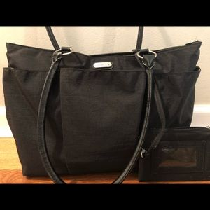 8201d955d11 Baggallini Bags   Large A La Carte Black Travel Tote Bag   Poshmark